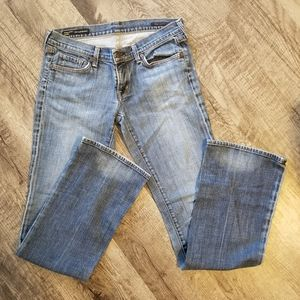 Citizens of Humanity size 30 stretch bootcut jeans